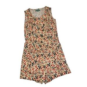 Candie's Floral Print Romper - Women's Size Small